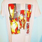 MARVEL - IRON MAN - GRAY - MEDIUM - T-SHIRT - NEW - AVENGERS - HULK - THOR