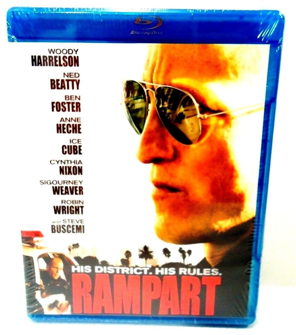 RAMPART - BLU-RAY - DVD - WOODY HARRELSON - ICE CUBE - BRAND NEW - CRIME - MOVIE