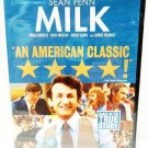 MILK - DVD - SEAN PENN - JAMES FRANCO - BRAND NEW - SEALED - HARVEY MILK - MOVIE