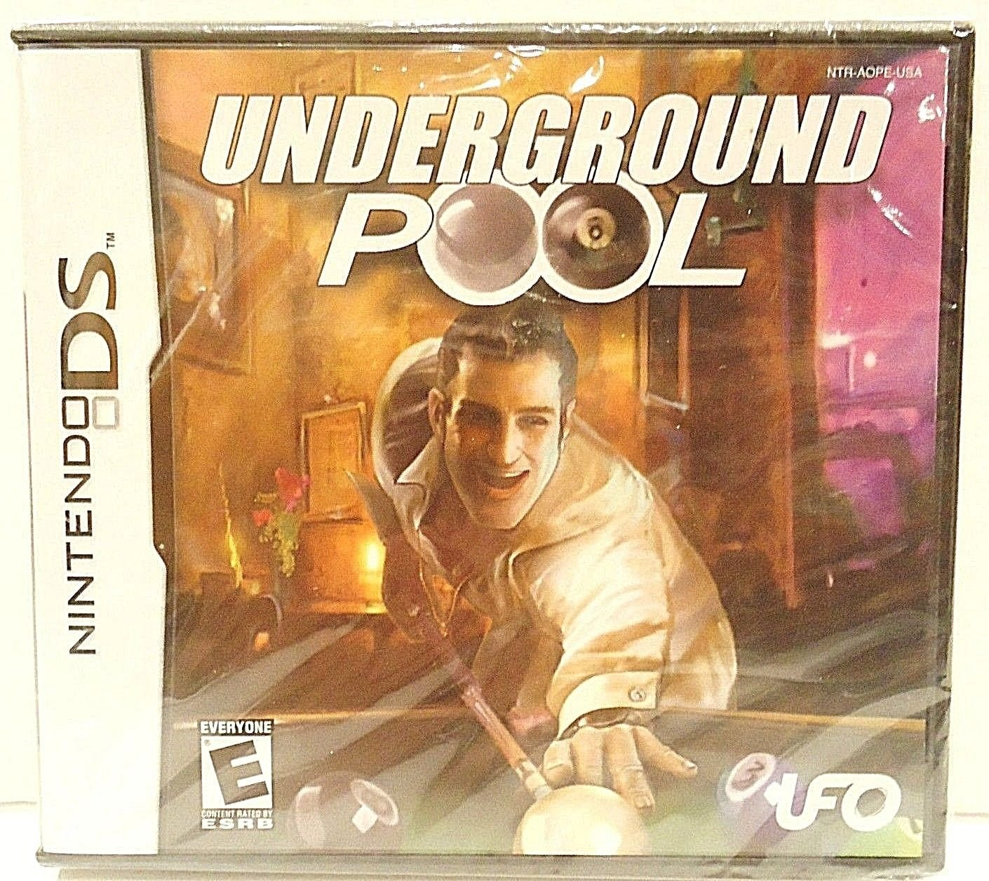 NINTENDO - DS - LITE - 3D - UNDERGROUND POOL - NEW - SEALED - VIDEO - GAMES