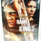 IN THE NAME OF THE KING 2 - TWO WORLDS - DVD - DOLPH LUNDGREN - NEW - SWORDS