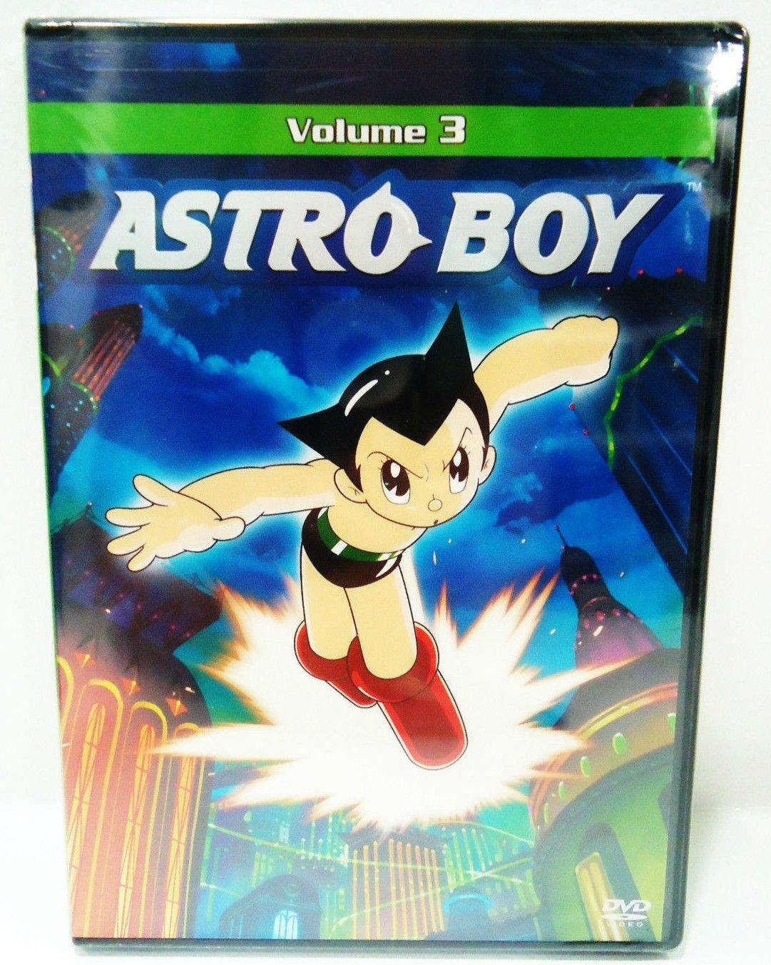 ASTRO BOY - VOLUME 3 - DVD - VINTAGE - COMIC - CARTOON - NEW - JAPANESE - ANIME