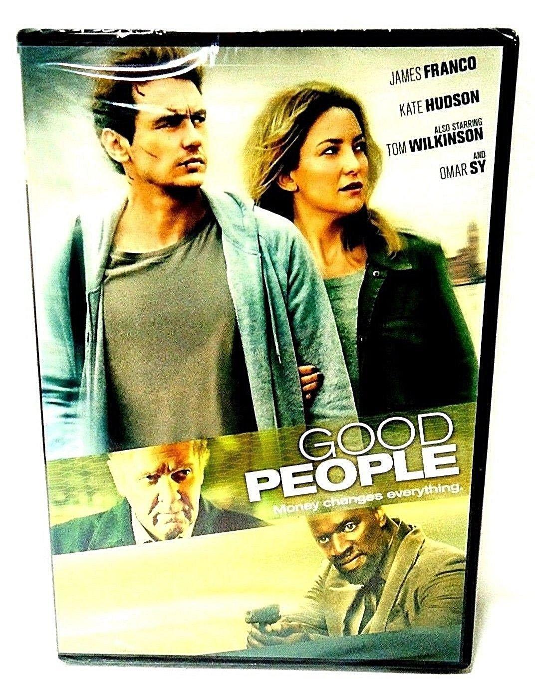 GOOD PEOPLE - DVD - JAMES FRANCO - KATE HUDSON - NEW - CRIME - THRILLER - MOVIE