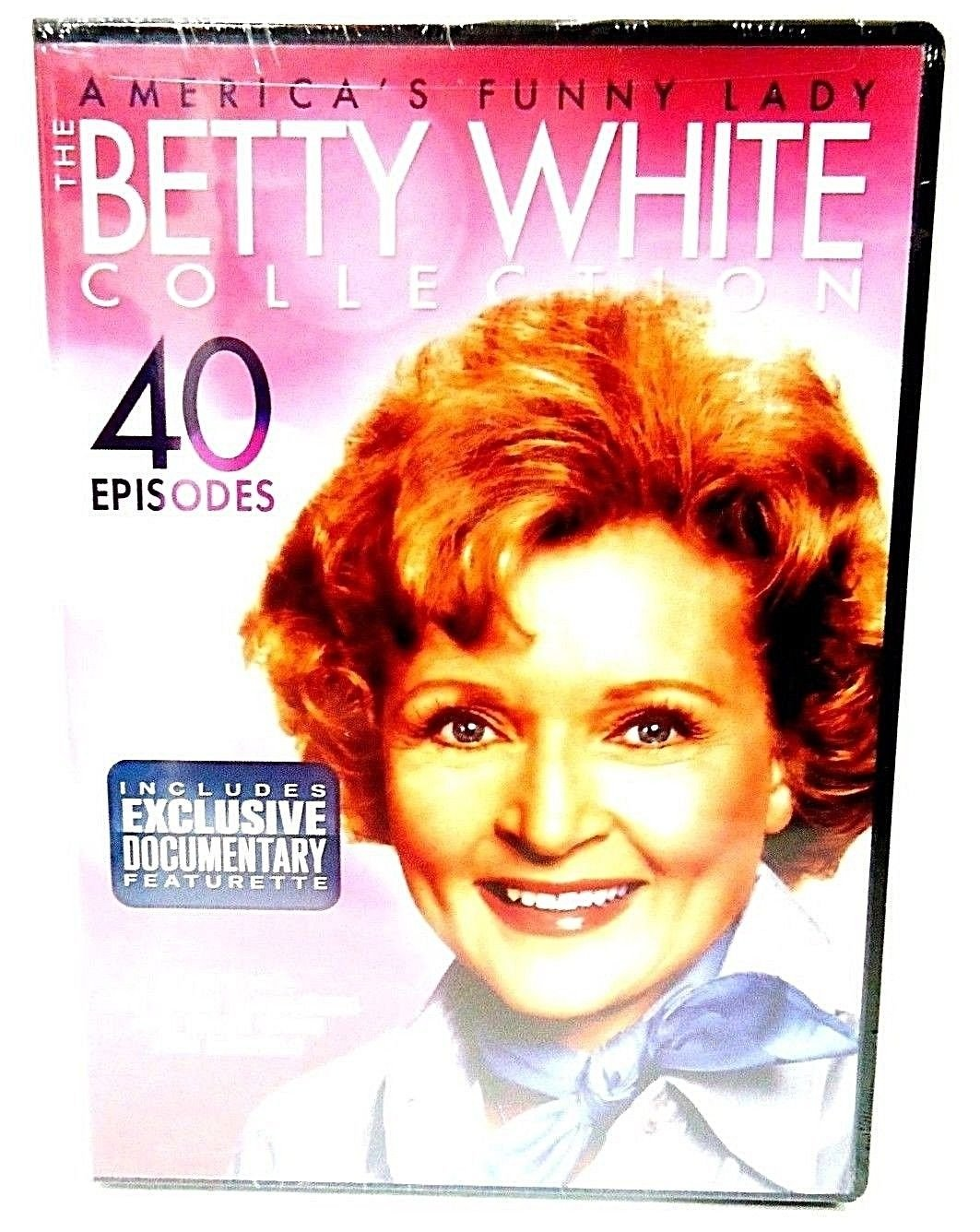 THE BETTY WHITE COLLECTION - DVD - 4-DISC SET - 40 EPISODES - NEW - COMEDY