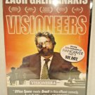 VISIONEERS - DVD - ZACH GALIFIANAKIS - NEW - HANG OVER PART 2 - COMEDY - MOVIE