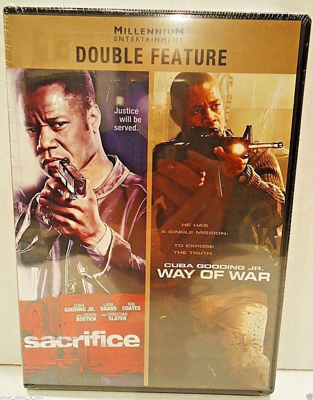 SACRIFICE - WAY OF WAR - 2 PACK - DVD - CUBA GOODING, JR - ACTION - NEW - MOVIE