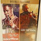 SACRIFICE - WAY OF WAR - 2 PACK - DVD - CUBA GOODING, JR - ACTION - NEW - MOVIE