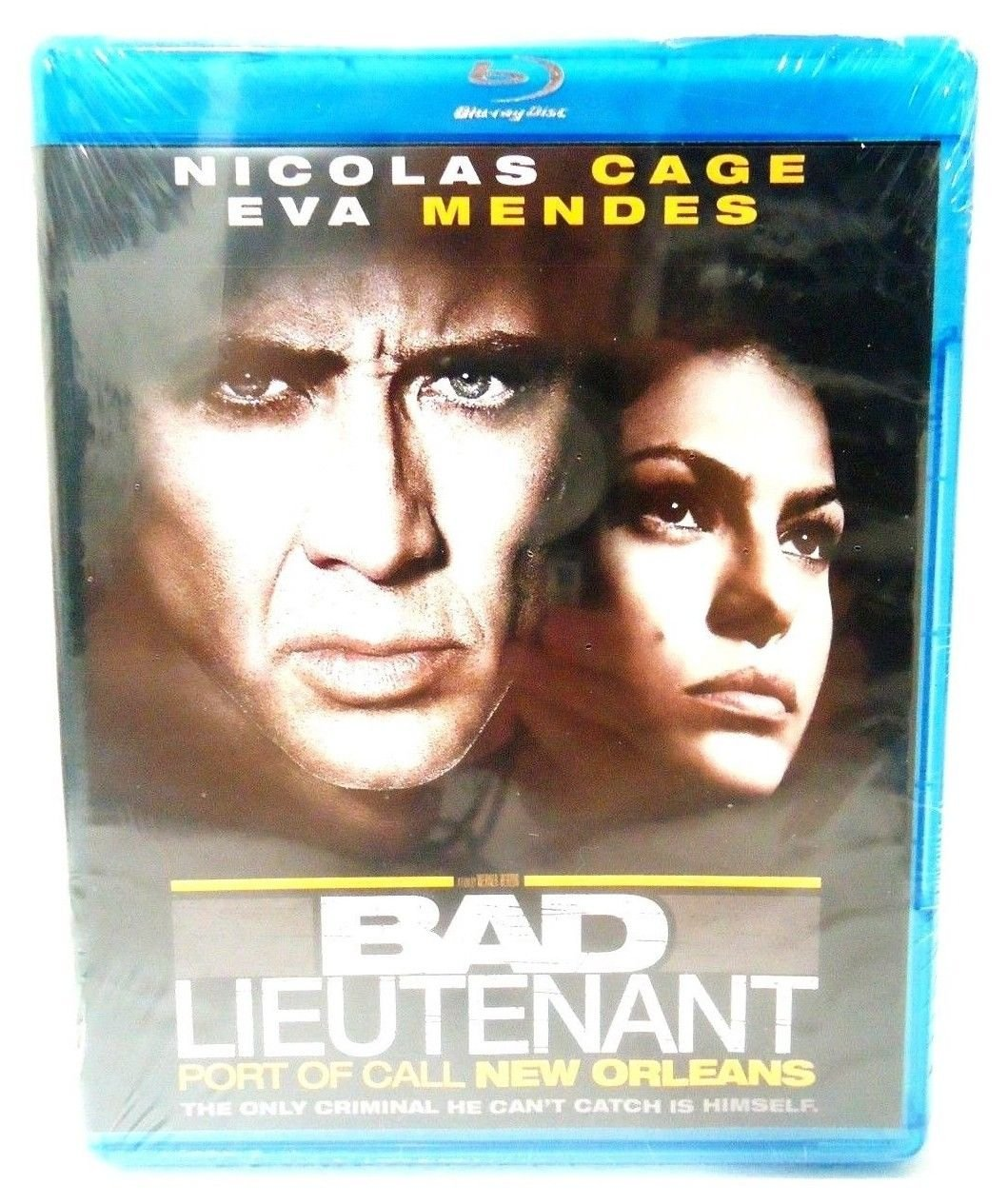 BAD LIEUTENANT - PORT OF CALL - NEW ORLEANS - BLU-RAY - NICOLAS CAGE - BRAND NEW