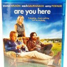 ARE YOU HERE - BLU-RAY - DVD - AMY POEHLER - OWEN WILSON - NEW - COMEDY - MOVIE