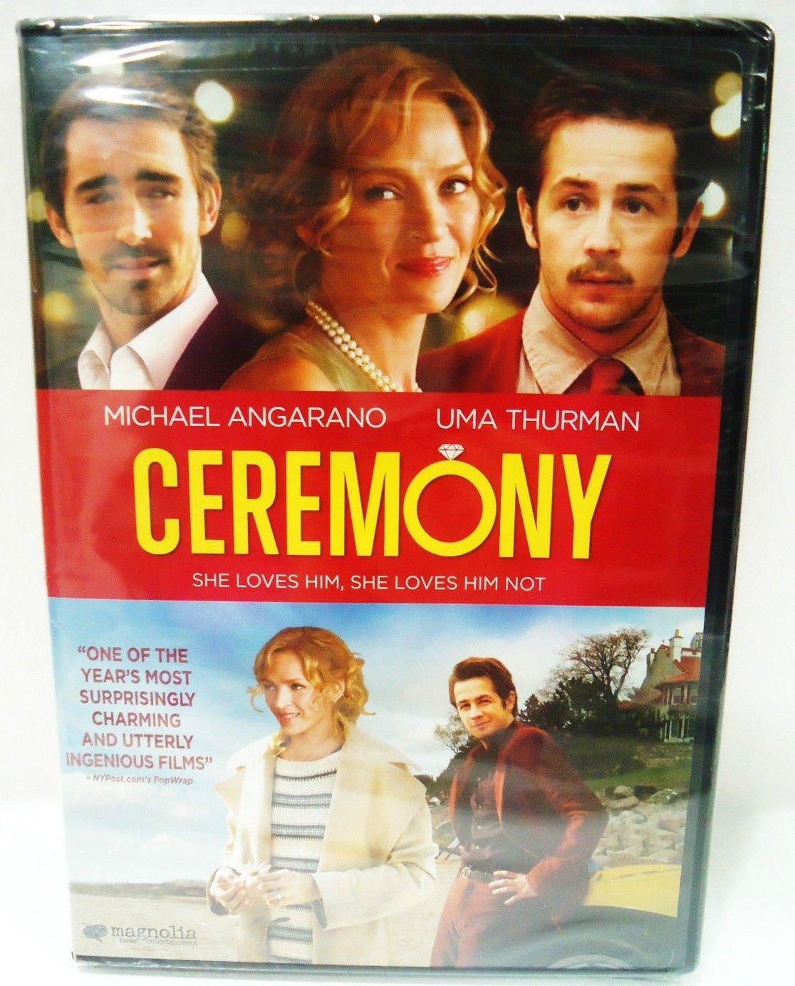 CEREMONY - DVD - UMA THURMAN - MICHAEL ANGARANO -  NEW - SEALED - COMEDY - MOVIE