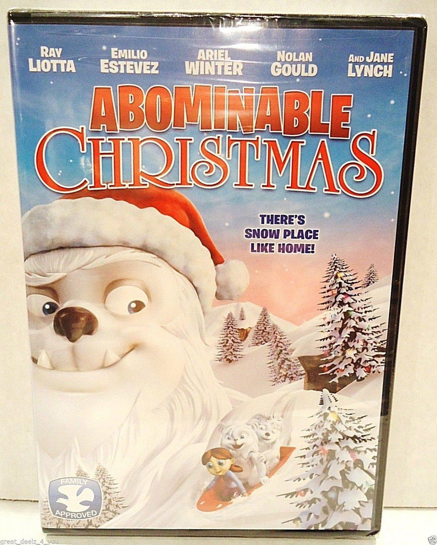 ABOMINABLE CHRISTMAS - DVD - RAY LIOTTA - ARTZOOKA - NEW - RUDOLPH - CARTOON