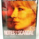 NOTES ON A SCANDAL - DVD - JUDI DENCH - CATE BLANCHETT - NEW - DRAMA - MOVIE
