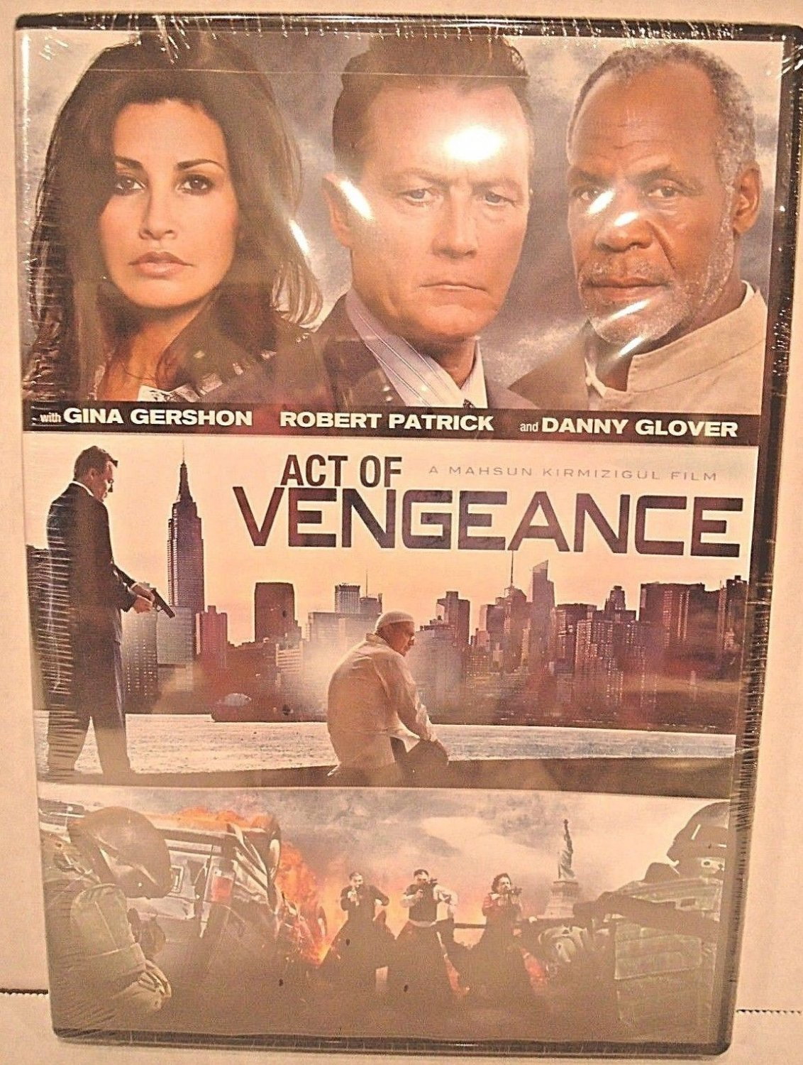ACT OF VENGEANCE - DVD - ROBERT PATRICK - DANNY GLOVER - NEW - ACTION - MOVIE