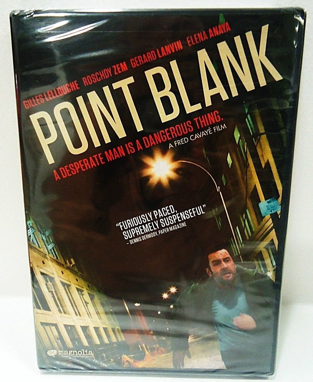POINT BLANK - DVD - GILLES LELLOUCHE - BRAND NEW - SEALED - ACTION - MOVIE