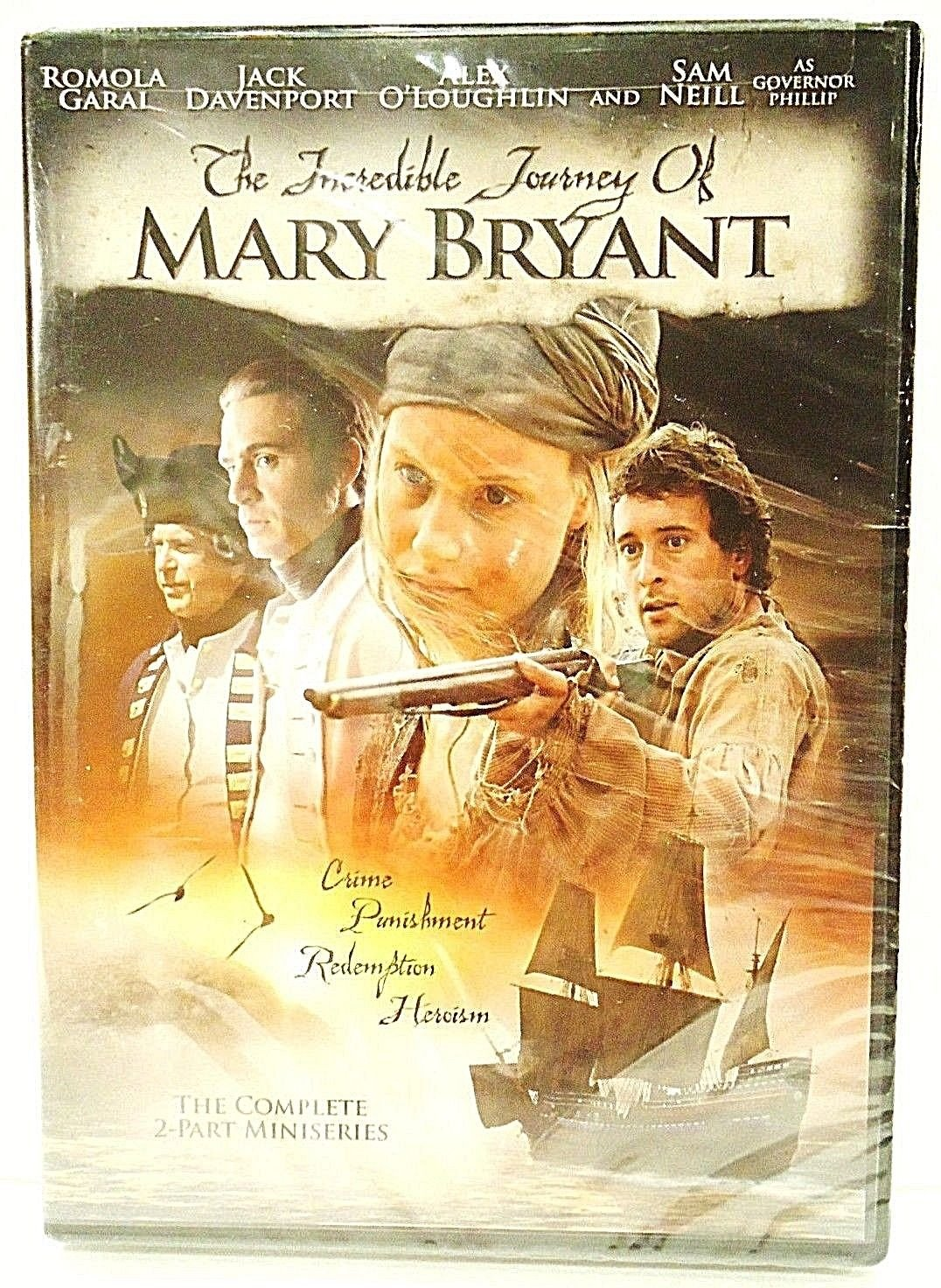 THE INCREDIBLE JOURNEY OF MARY BRYANT - NEW - DVD - SAM NEIL - SEALED - PIRATES