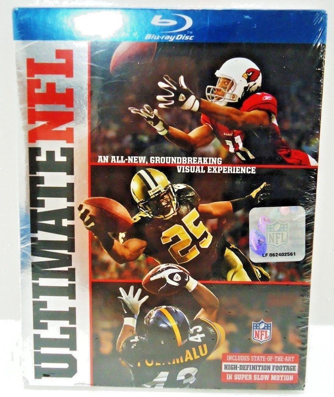 NFL: ULTIMATE NFL - DVD - BLU-RAY - FOOTBALL - BRAND NEW - SUPER BOWL - SPORTS