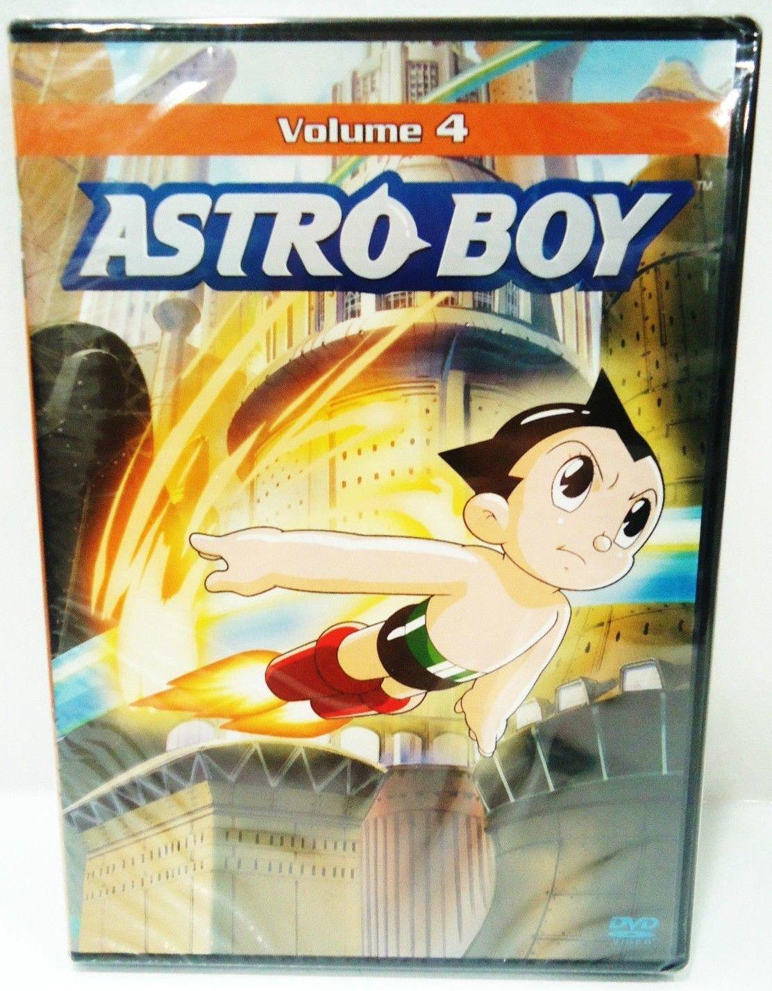 ASTRO BOY - VOLUME 4 - DVD - VINTAGE - COMIC - CARTOON - NEW - JAPANESE - ANIME