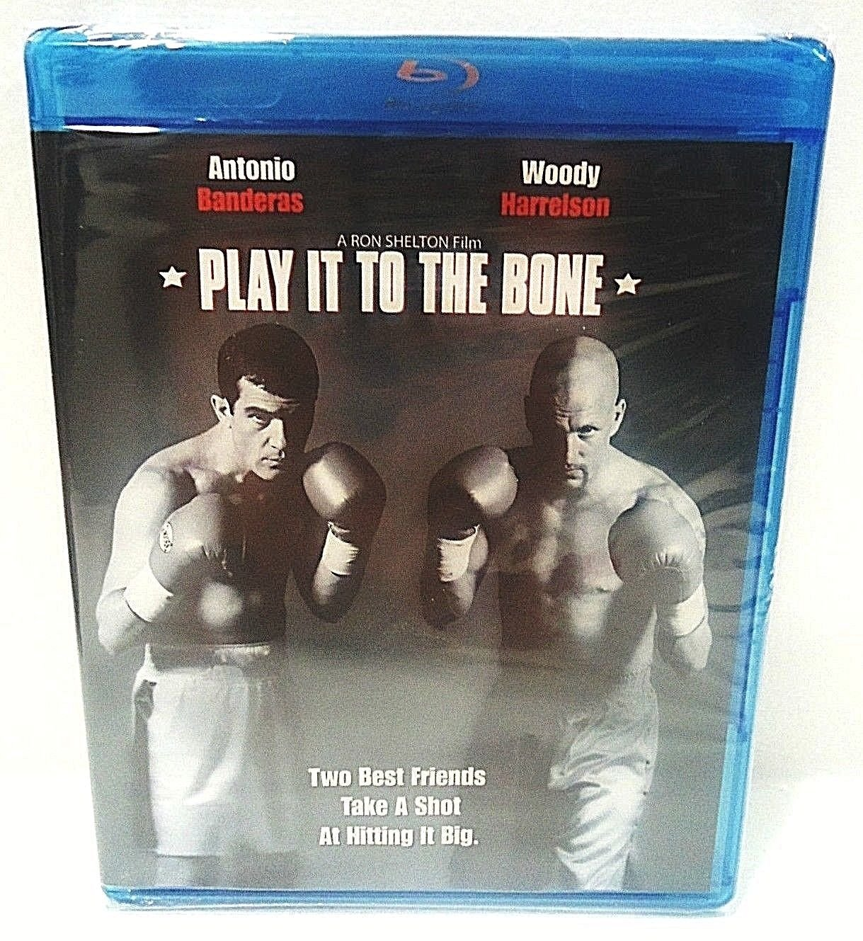 PLAY IT TO THE BONE - DVD - BLU-RAY - WOODY HARRELSON - NEW - SEALED - ROCKY
