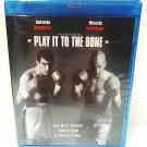 PLAY IT TO THE BONE - DVD - BLU-RAY - WOODY HARRELSON - NEW - SEALED - ROCKY