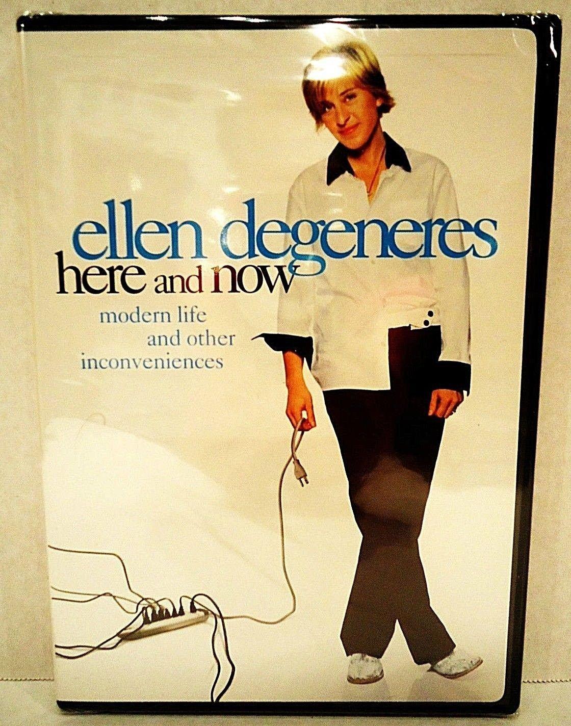 ELLEN DeGENERES - HERE AND NOW - DVD - HBO - FILMS - BRAND NEW - COMEDY - MOVIE
