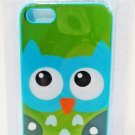 iPHONE - 5 - 3D - LENTICULAR - OWL - CELL PHONE - HARD - CASE - GREEN - NEW