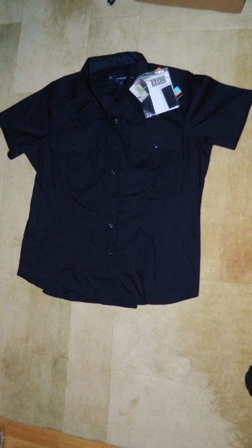Women's 5.11 Tactical Taclite PDU Short Sleeve Shirt Work Uniform 61169W