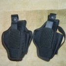 2 BlackHawk Handgun Holster w/ Magazine Pouch Pistol Carry size 5