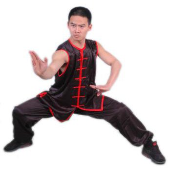 5.1.2.160 Black nan quan sleeveless uniform