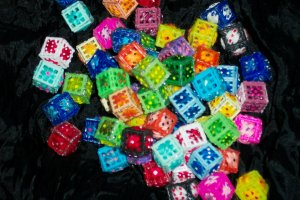 Handmade dice