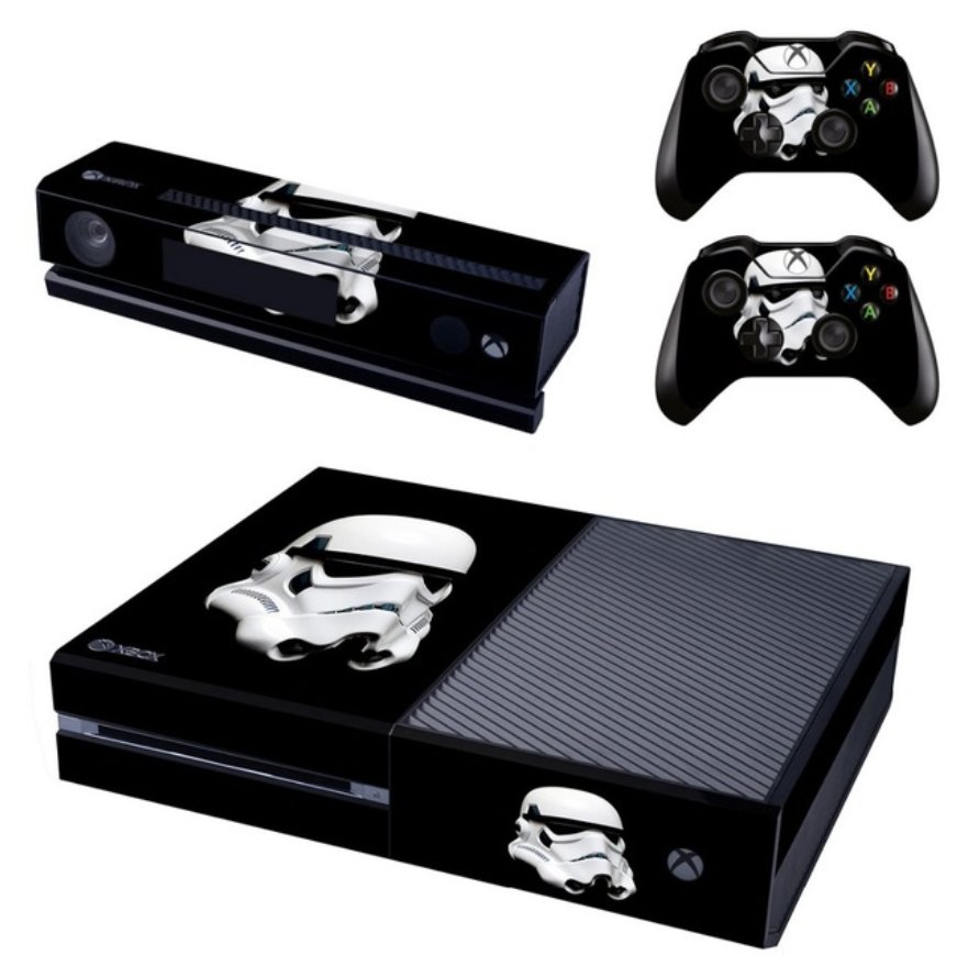 Video Game Accessories Storm Trooper Xbox One S 1 Sticker Console Decal Xbox One Controller Vinyl Skin Faceplates, Decals & Stickers