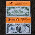 $10 Silver Certificate 1933 UNC Crisp Reproduction New Sealed Retail Dollar Bill (Medium)