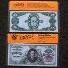 $20 Silver Certificate 1891 UNC Crisp Reproduction New Sealed Retail Dollar Bill (Medium)