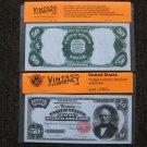 $50 Silver Certificate 1891 UNC Crisp Reproduction New Sealed Retail Dollar Bill (Medium)