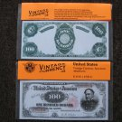 $100 Vintage OLD 1891 UNC Crisp Reproduction New Sealed Retail Dollar Bill (Medium)