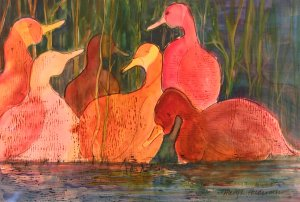 Goose Retreat - Mary Holderness