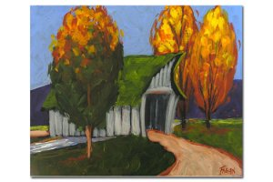 Covered Bridge - Beverly Fagan Gilbertson
