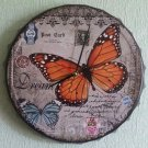 Wall Clock Butterfly