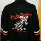 HARLEY DAVIDSON WOOL VARISTY LETTERMAN MOTORCYCLE JACKET XXL