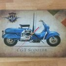 Wall Clock GGT Scooter