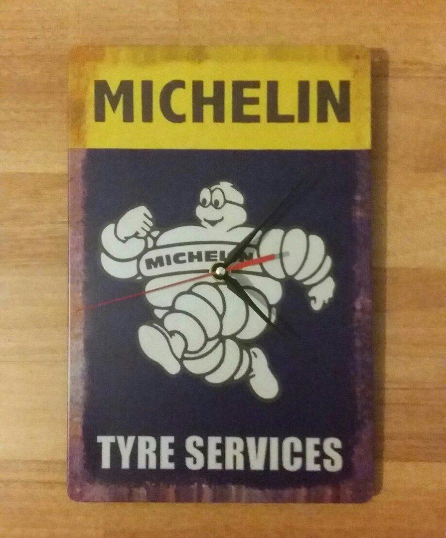 Wall Clock Michelin