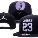 Baseball Cap JORDAN 23 NBA Snapback Hat New Black