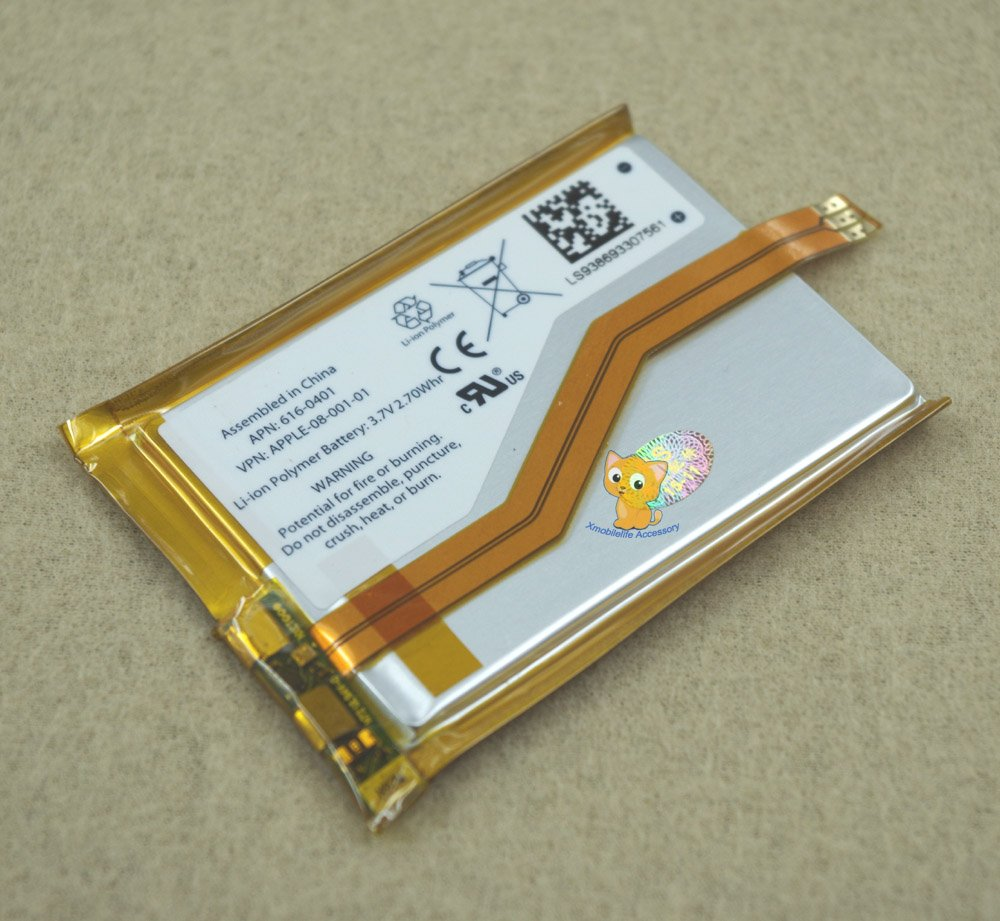 Internal Li-ion Polymer Battery Replacement for iPod Touch 3rd gen Touch 3 8GB