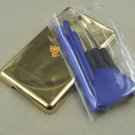 Gold Golden Metal Back Rear Housing Case Cover Opening Tools for iPod 6th gen Classic 80GB