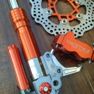 Orange BGM SUPERCHARGED Front End Kit for HONDA RUCKUS,