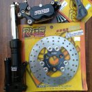 RRGS custom HONDA Ruckus front end disk brake conversion kit
