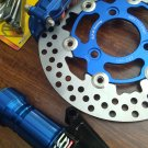 Blue RRGS custom HONDA DIO Front End Disk Brake Conversion Kit