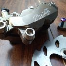 YAMAHA JOG 220mm brake upgrade kit - TWPO - RPM RACING - Grey