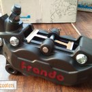 GENUINE FRANDO HF-6 (Hard Anodized) and Caliper Bracket