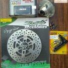 RRGS / TWPO 220mm Brake Upgrade Kit with CNC Hub for HONDA Ruckus