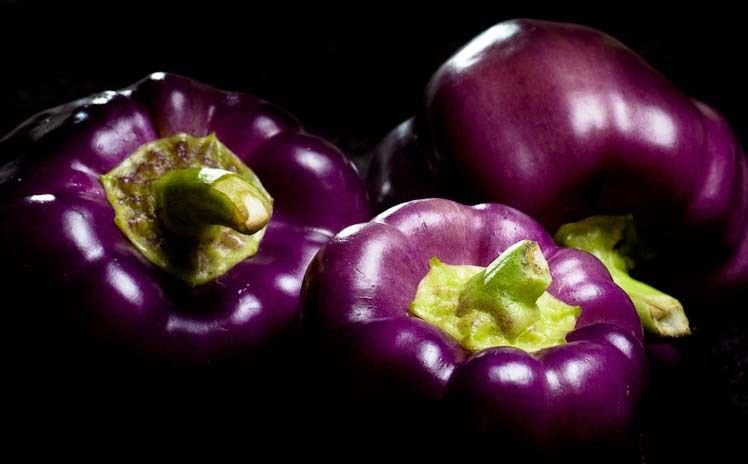 80 Sweet Pepper 'Purple Beauty' seeds Heirloom NON-GMO *SHIPPING FROM US* CombSH A35
